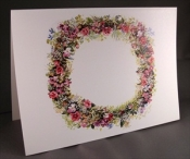 Summer Wreath Notecard Pack- Tasha Tudor